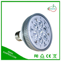 Full Spectrum 10W Pannel Led Light For Soilless Agriculture 10W LED Grow Bulb With E27/E40 From Sunprou