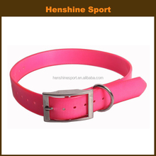 sport polyurethane coated nylon dog collar