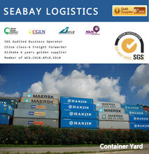 Professional international 20ft shipping container to usa