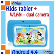 "7"" Google Android 4.4 Preschool Education Mid Tablet Camera Children Kids edition - Blue"