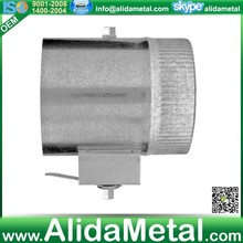 2-inch standoff collars with damper(sleeve)for hvac system with ASTM A653 and A924 standards