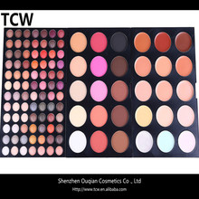 Factory supply OEM eye shadow 114 colors cheap eyeshadow, wholesale makeup eyeshadow palette, eyeshadow case