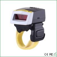 Cheap CCD 2D wireless Bluetooth FS02 mini QR Ring-style sebex Barcode Scanner rewiew Android wifi bar code USB reader decoder
