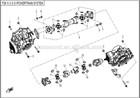 cfmoto 800cc atv peças de reposição do sistema de transmissão
