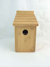 bsci factory bamboo new design decorated bird house