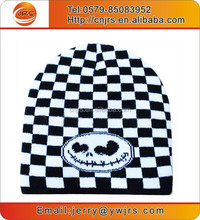 Hot sell top quality ski beanie hats,winter warm sport team beanie