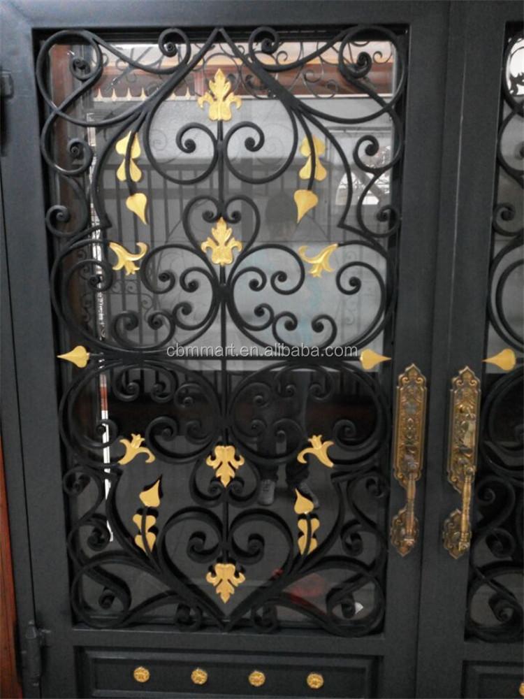 Puerta de hierro forjado puerta precios puertas for Ver disenos de puertas de fierro