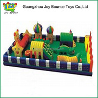 new funny Park Bouncer Amusement Inflatable Fun City for kids