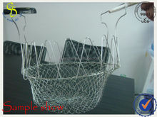 metal wire golf ball wire basket factory price
