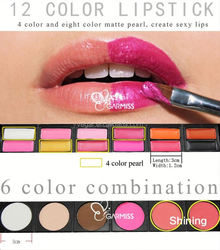 Professional 78 Color Makeup Eyeshadow Palette waterproof gel eyeshadow pencil
