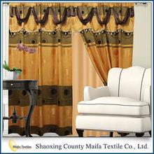 Cortina fabricante alta calidad personalizado estilos de la cortina para dubai