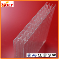 8mm Multi-wall Polycarbonate Sheet/ Solar Panel /polycarbonate Sheet Price