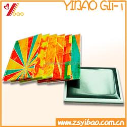 Customized print tinplate fridge magnetic magnet