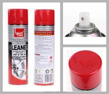 How to polish aluminum wheels,use biaobang wheel hub cleaner620ml!