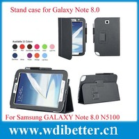 Colorful Contrast Color Pu Leather Case for Samsung Galaxy Note 8 5100