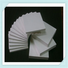 Green 2015 hot sale PVC Celuka Solid Foam Boards With High Quality Glossy Hard Surface