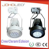led lgiht 2013 wireless cree 220v led track light/220v square led track light
