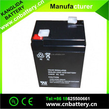 6v4ah battery electronic scales manufacture