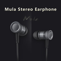 Rock Mula Stereo Earphone High Performance Deep Bass Stereo In-ear Headphone Headset For IPhone For Samsung Universal