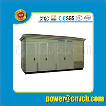 YBW 35KV Combined Type Transformer mobile Substation substation with electrical box