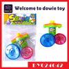 Plastic toy spinning tops light and music Spin Disk Toys game set