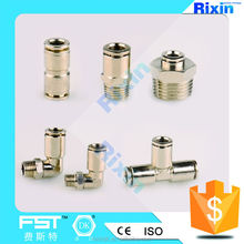 RX 1040 plastic fuel fittings for hose plastic hose joint plastic quick connect fittings