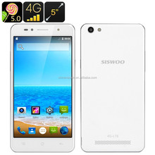 SISWOO C50 Smartphone - 64 BIT Quad Core CPU, 4G Dual SIM, Android 5.0, 5 Inch 720p OGS Screen, Smart Wake, IR Function