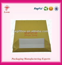 2012 New Luxury Shopping Paper gift Bag for sale