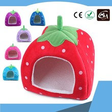 Dogs Accessories in China Lovely Strawberry Shape Dog House Bed