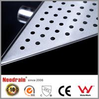 Newest design high quality chrome plated floor drain