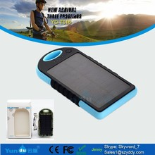 12000mah Factory price portable waterproof IPX6 solar mobile phone power banks