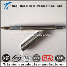 titanium cover coat fountain pen iridium point germany made in china