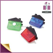 Promotional Paper Spring Clip Magnet Plastic Clip