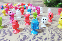 Ickee Stikeez Toys Figures With Cupule Sucker