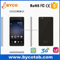 active dual sim mobile phone 5 inch screen dualcore 3g WCDMA gps android 4.4 smart phone