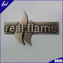 Antique brass metal tags Zinc alloy tag