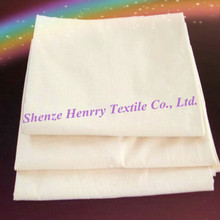 Customized production cotton polyester plain gray cloth
