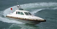 fiberglass diesel inboard fast patrol pilot boat