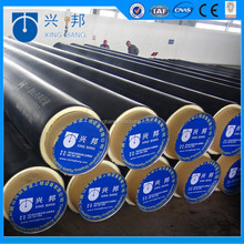 Underground reticulation insulation pipe with polyurethane foam material for green community pipeline system