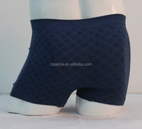OEM Service Cheap Bamboo 3D Knitted Boxer Shorts Mens