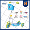 Hot Sale Three Wheels Kids Kick Scooter Blue Color Outdoor Games JB308