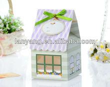 Lovely House Shaped Cake Box (