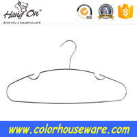 Non-Slip wire hanger for clothes