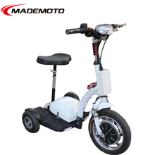 48V 500W 3 Wheel Electric Zappy Scooter for Kids