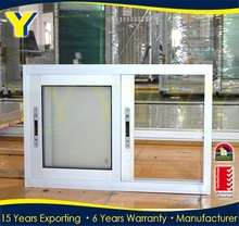 Cheap Price Windows Manufactured by YY Construction in China_Aluminium Frame Sliding Glass Window