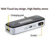 3.5 mm Aux connector mobile phone instructions car mp3 player fm transmitter usb
