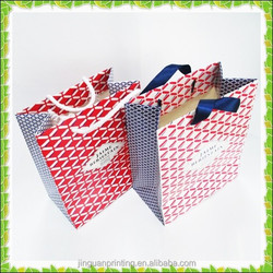 Customized paper shopping bags, luxury paper bag, printed paper bag