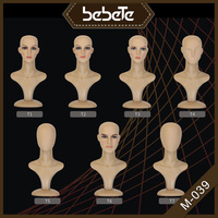 Hot Sale Factory Promotion Female Hair Training Makeup Plastic Head Mannequin Sale