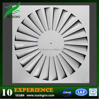 HVAC square swirl ceiling air diffuser evaporative cooler air grill