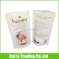 bath salt packing plastic stand up pouch bags